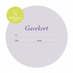 Gavekort (vælg beløb)